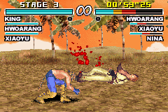 Tekken Advance - Kickass - User Screenshot